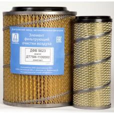 Элемент фильтрующий очистки воздуха ДФВ 5623 (ДТ75М-1109560) комплект (Difa 4308)/2